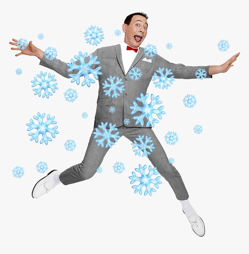 Pee Wee Pee Wee Herman Holidays Snowflakes Transparent - Pee Wee Herman Png, Png Download, Free Download