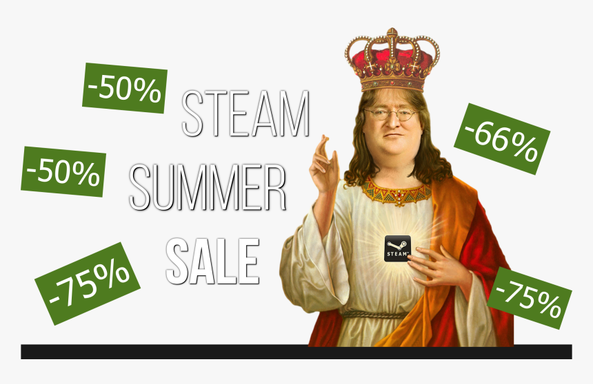 Gabe Newell Gif, HD Png Download, Free Download