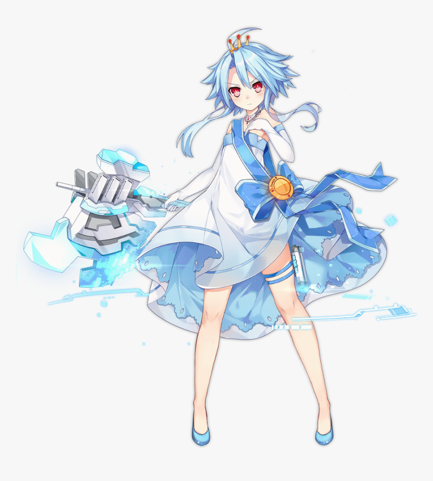 White Heart Neptunia Blanc, HD Png Download, Free Download