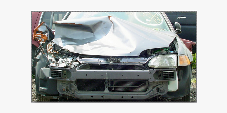 A Wrecked Car - Collision Repair, HD Png Download, Free Download