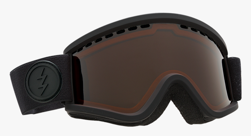 All Black Electric Goggles, HD Png Download, Free Download