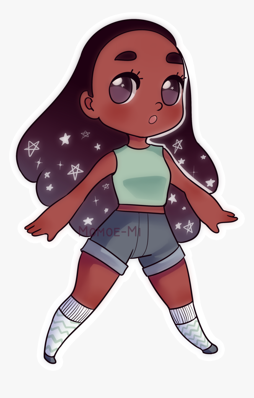 Just Recently Started Watching Steven Universe Chibi Connie Maheswaran Hd Png Download Kindpng