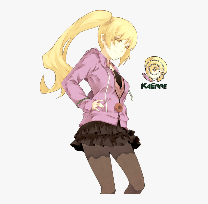 Shinobu Oshino Teen Render , Png Download - Shinobu Oshino Teen, Transparent Png, Free Download