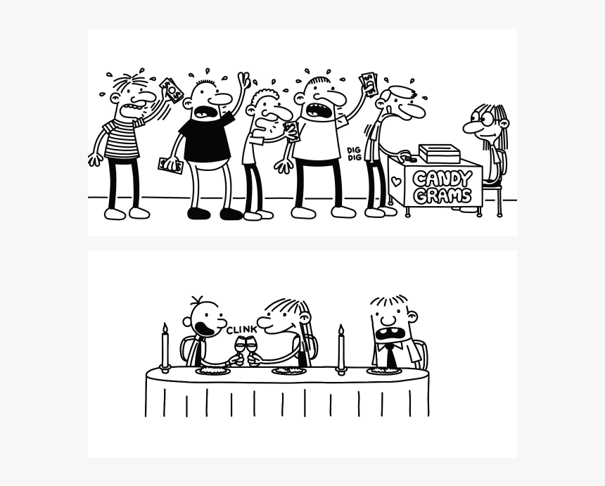 Diary Of A Wimpy Kid - Only One Business In The Galaxy Gets You This Rich, HD Png Download, Free Download