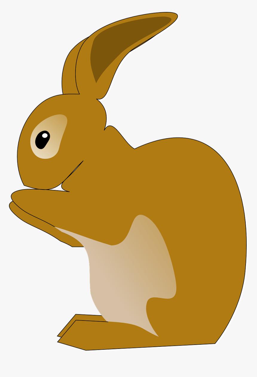 Vector Rabbit Vintage Bunny - Rabbit Clip Art, HD Png Download, Free Download