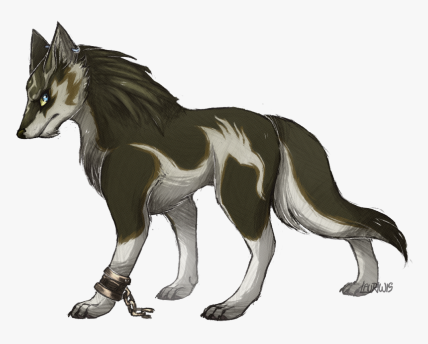 Wolf Link By Creepy-cookie Zelda Twilight Princess, - Twilight Princess Link Lobo, HD Png Download, Free Download