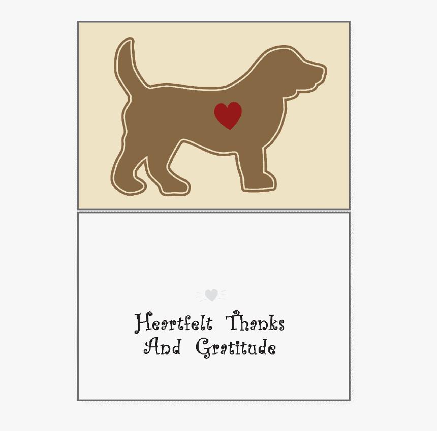 "Heartfelt Thanks & Gratitude""  Class=""lazyload Blur - Thank You Dog Sitt, HD Png Download, Free Download"