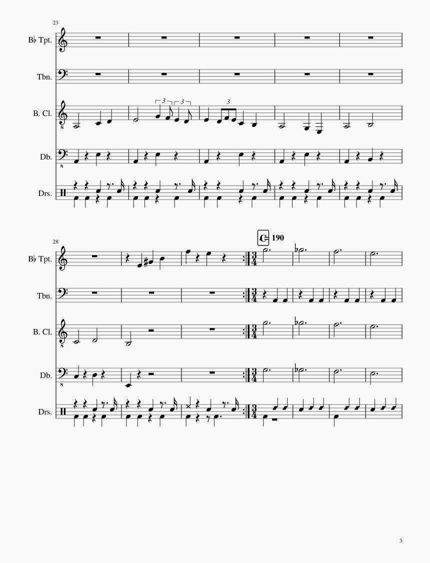 Battleblock Theater Main Menu Theme Piano Sheet Music, HD Png Download, Free Download