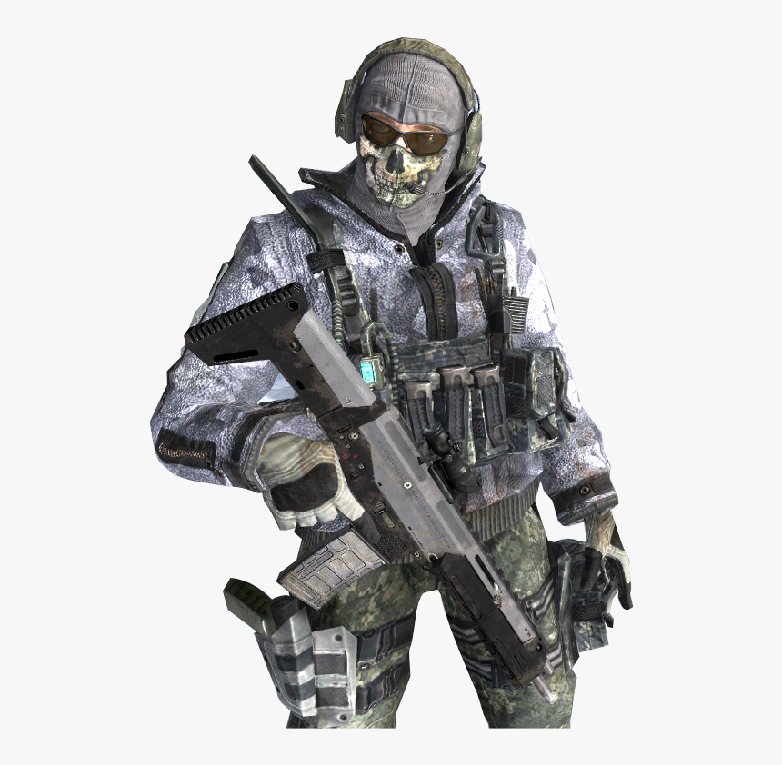 Transparent Call Of Duty Modern Warfare Png - Cod Simon Ghost Riley, Png Download, Free Download