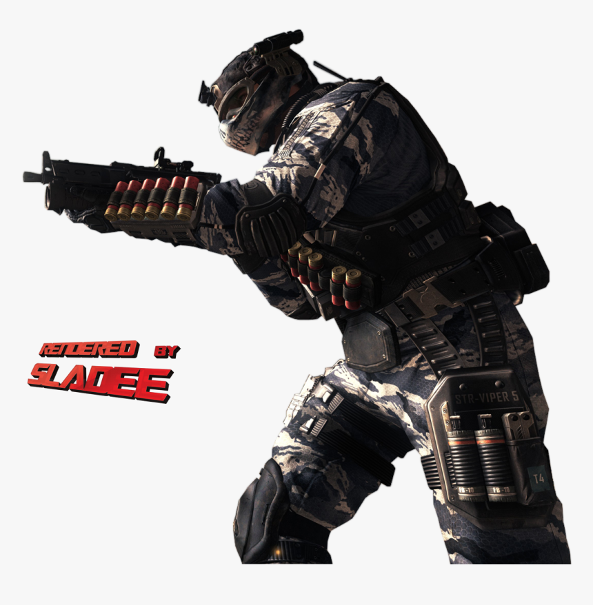 Cod Cod, Soldiers, Cod Fish, Atlantic Cod - Call Of Duty: Ghosts, HD Png Download, Free Download