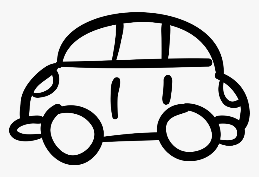 Car Hand Drawn Toy - Car Hand Drawing Png, Transparent Png, Free Download