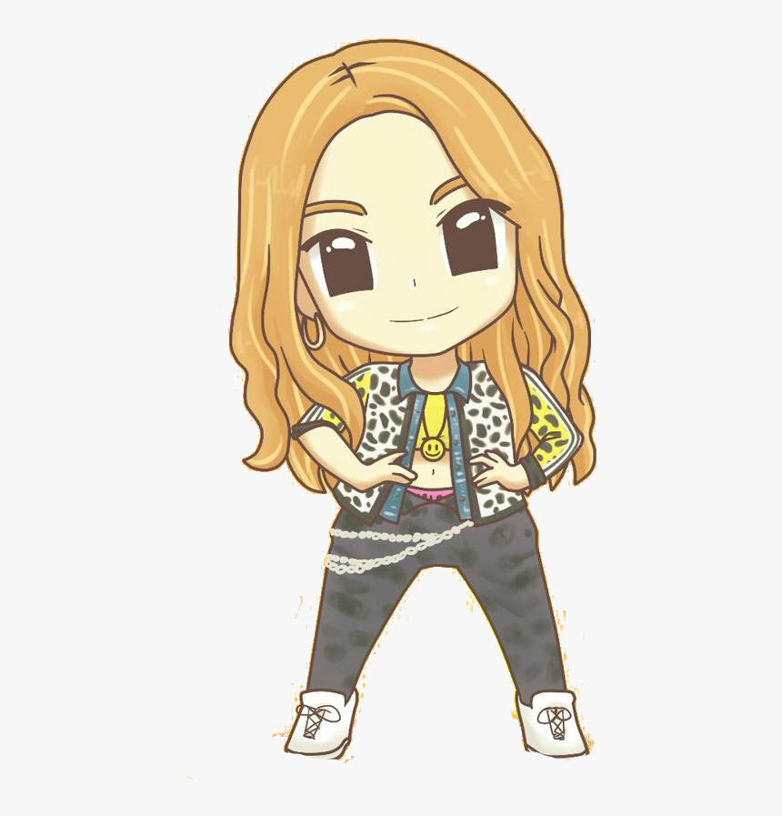 Who Is This Cartoon Quiz - Jessica Girls Generation Cartoon, HD Png Download, Free Download