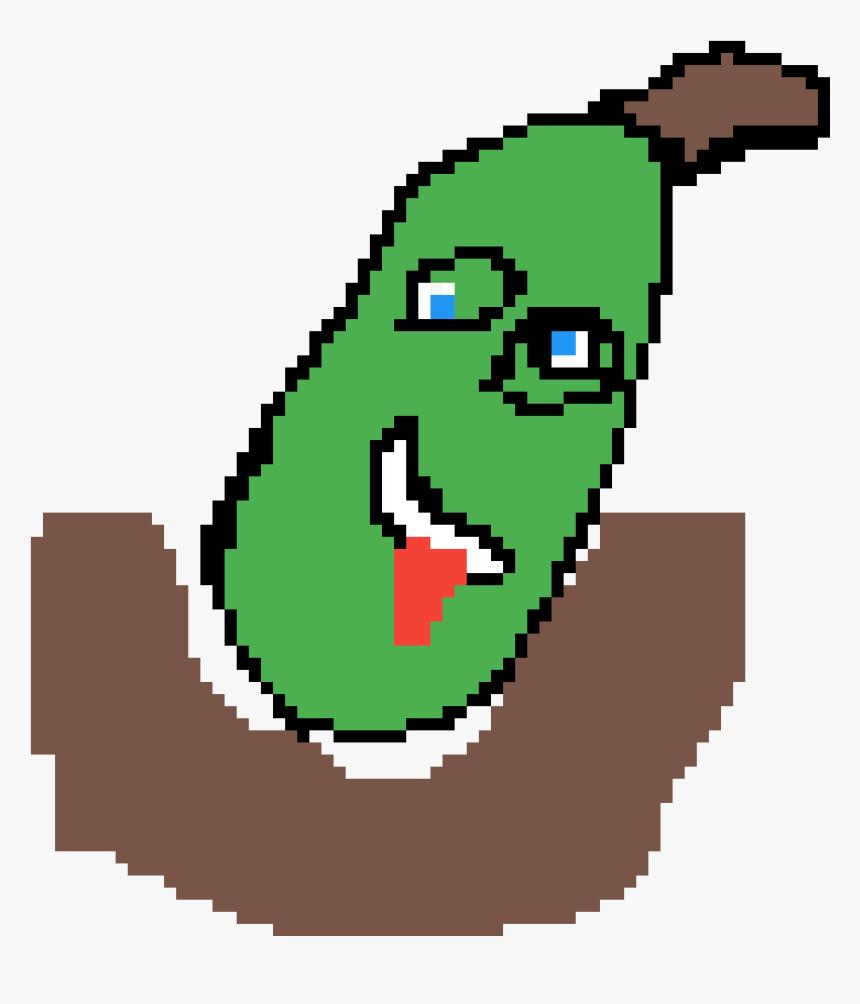 Cucumber Clipart Png Download Pickle Rick Pixel Art
