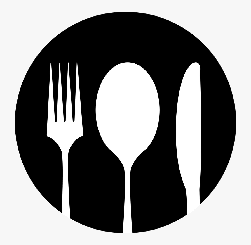Place Setting - Fork Knife Spoon Png, Transparent Png, Free Download