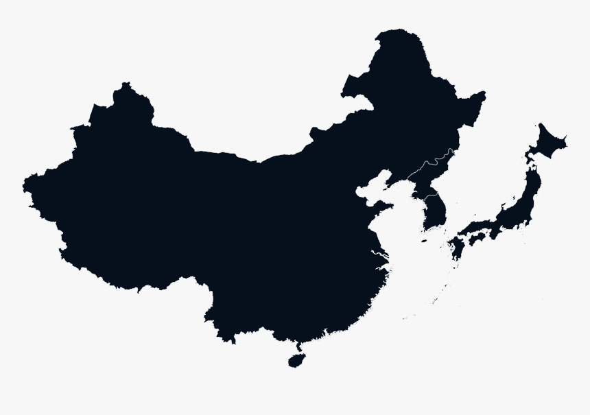 China Vector Map, HD Png Download, Free Download