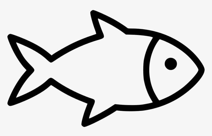 Download Fish Svg Png Icon Free Download Black And White Fish Png Transparent Png Kindpng