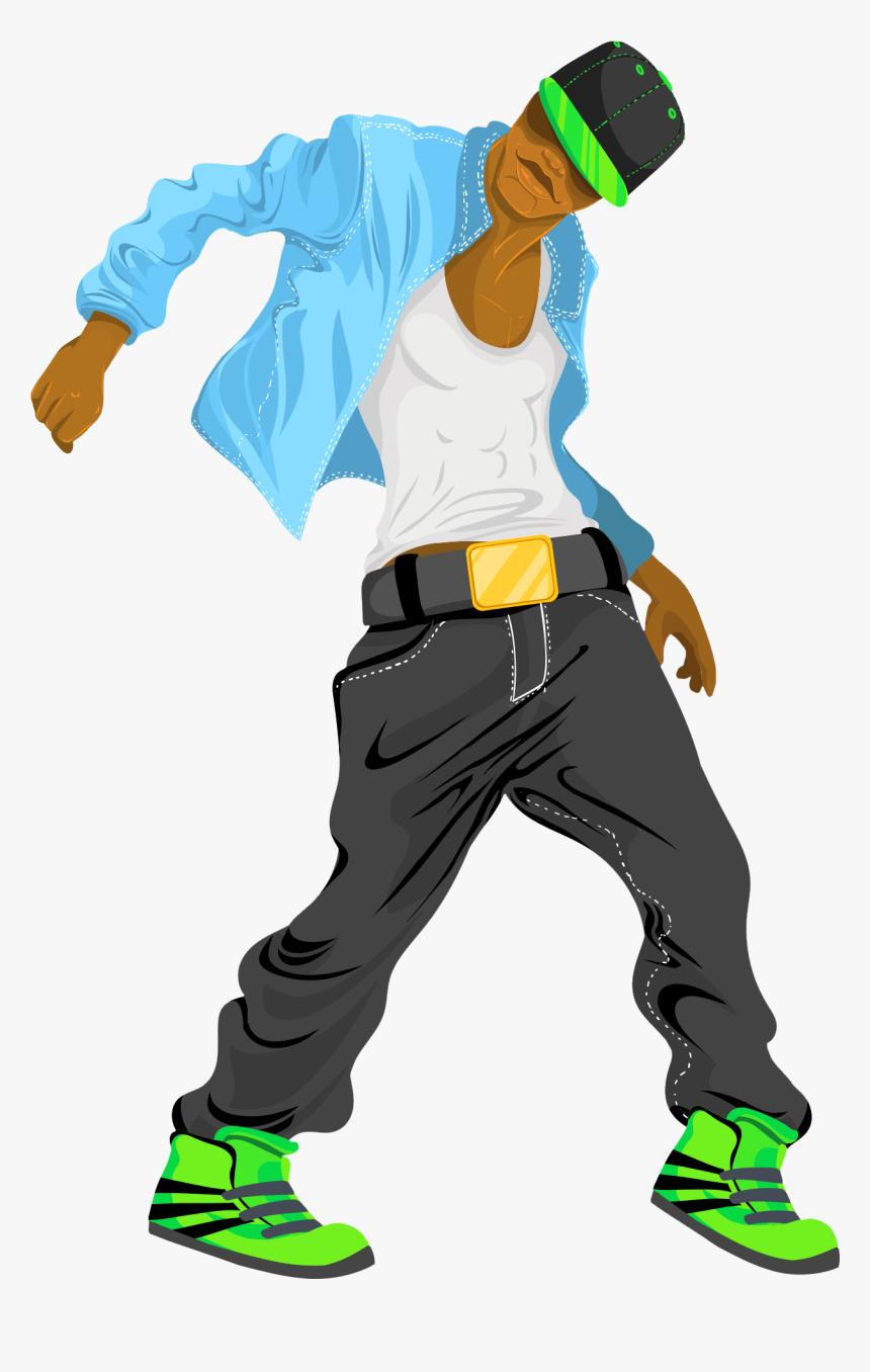 Hip Hop Dance Cartoon, HD Png Download, Free Download