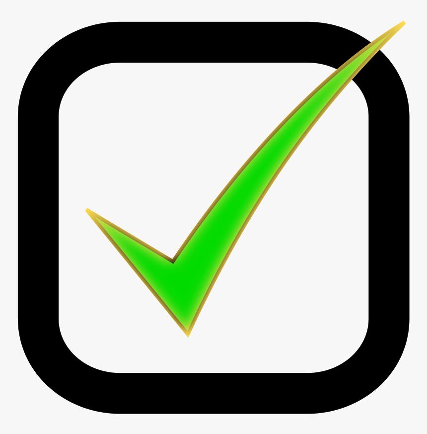 Check Box Clip Art - Checkbox Clipart, HD Png Download, Free Download