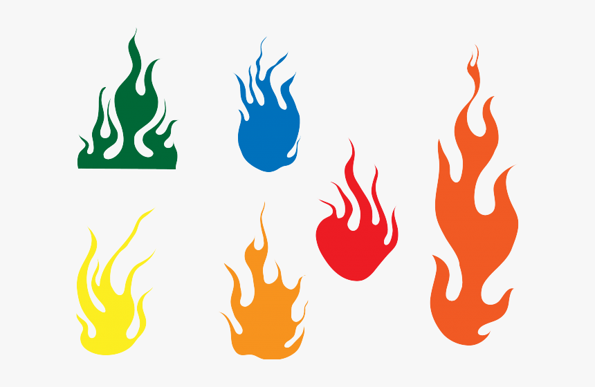 Hand Emoji Clipart Flame Vector Graphics - Graphic Fire Flame Vector, HD Png Download, Free Download