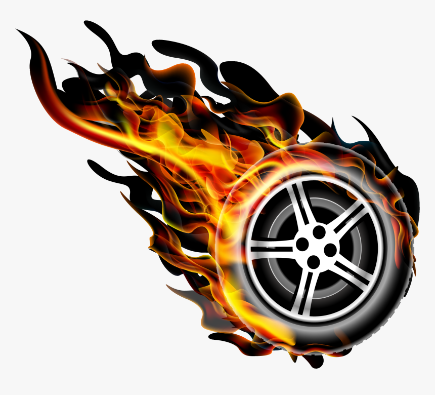 Image Black And White Fire Transprent Png Free Download - Imagens Hot Wheels Png, Transparent Png, Free Download