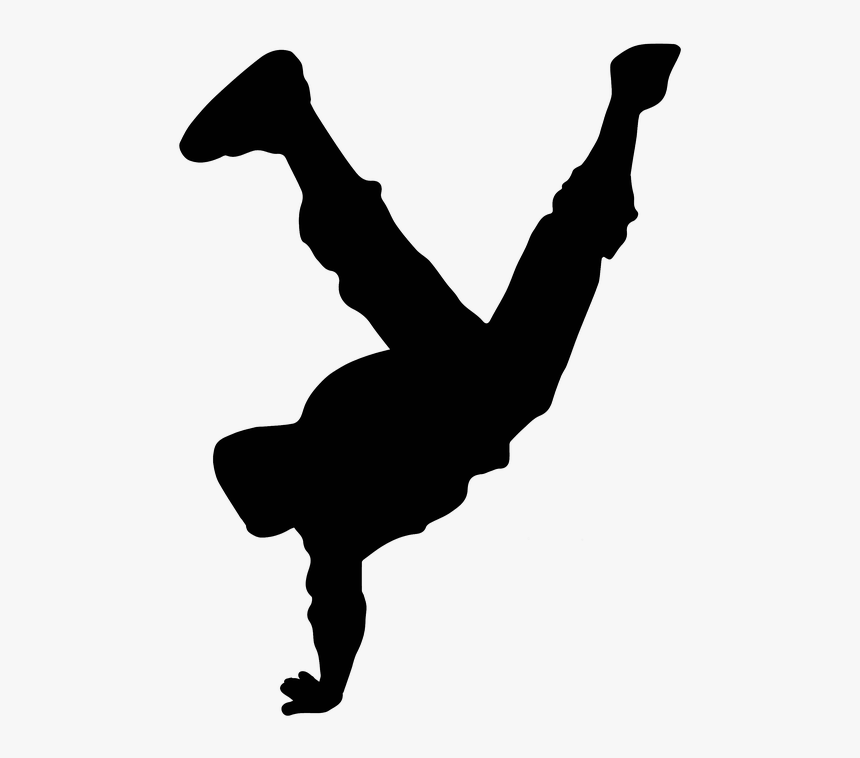 Hip Hop Dance Silhouette Png Transparent Png Kindpng
