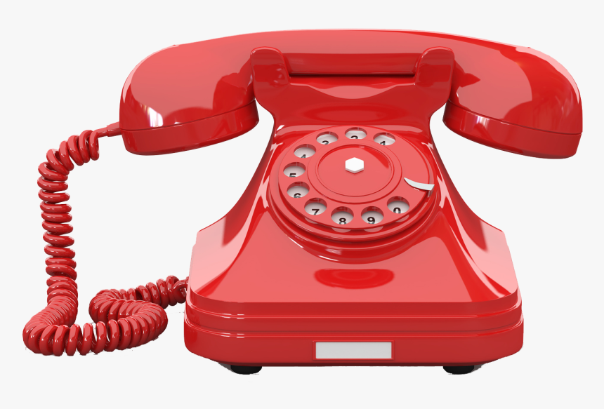 Red Phone No Background, HD Png Download, Free Download