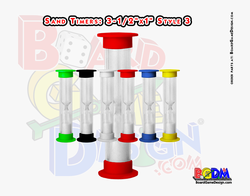 Sand Timers, Timers For Games, 15 Seconds, 30 Seconds, - Game Board Players Pieces, HD Png Download, Free Download