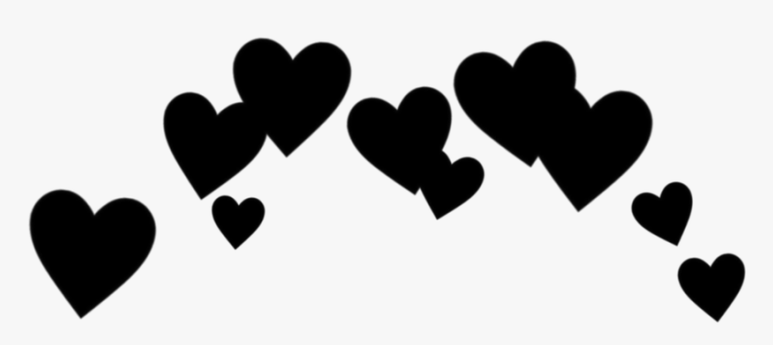 Heart Cute Effect Black Blackheart Love Cool Black Heart