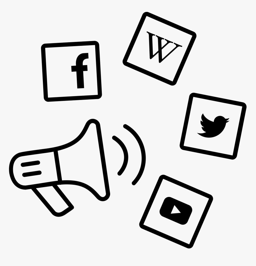 Transparent Social Media Marketing Icon Png - Social Media Marketing Icon, Png Download, Free Download