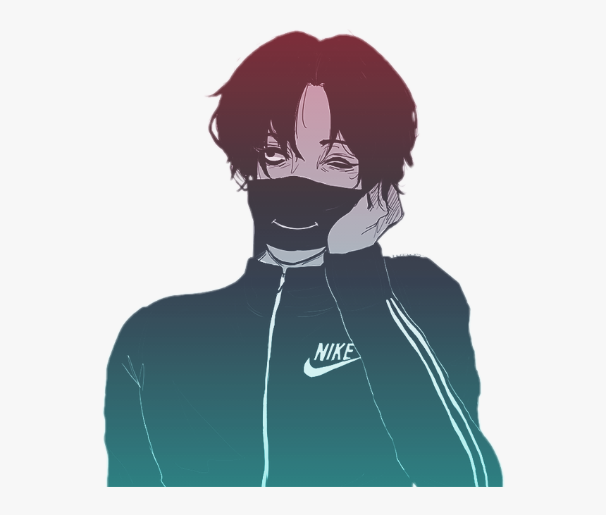 Anime Vaporwave Png Sad Anime Boy Aesthetic Transparent Png Kindpng
