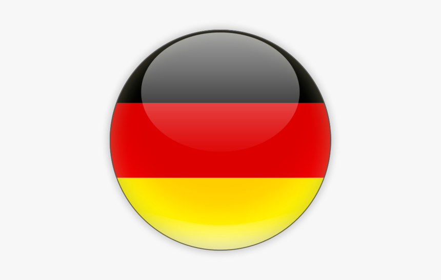 Download Flag Icon Of Germany At Png Format - Germany Round Flag Png, Transparent Png, Free Download