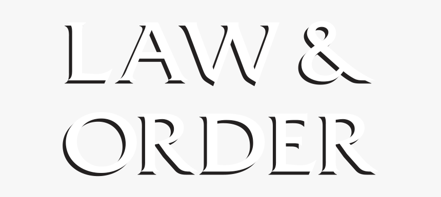 Law Clipart Law And Order - Law & Order Png, Transparent Png, Free Download