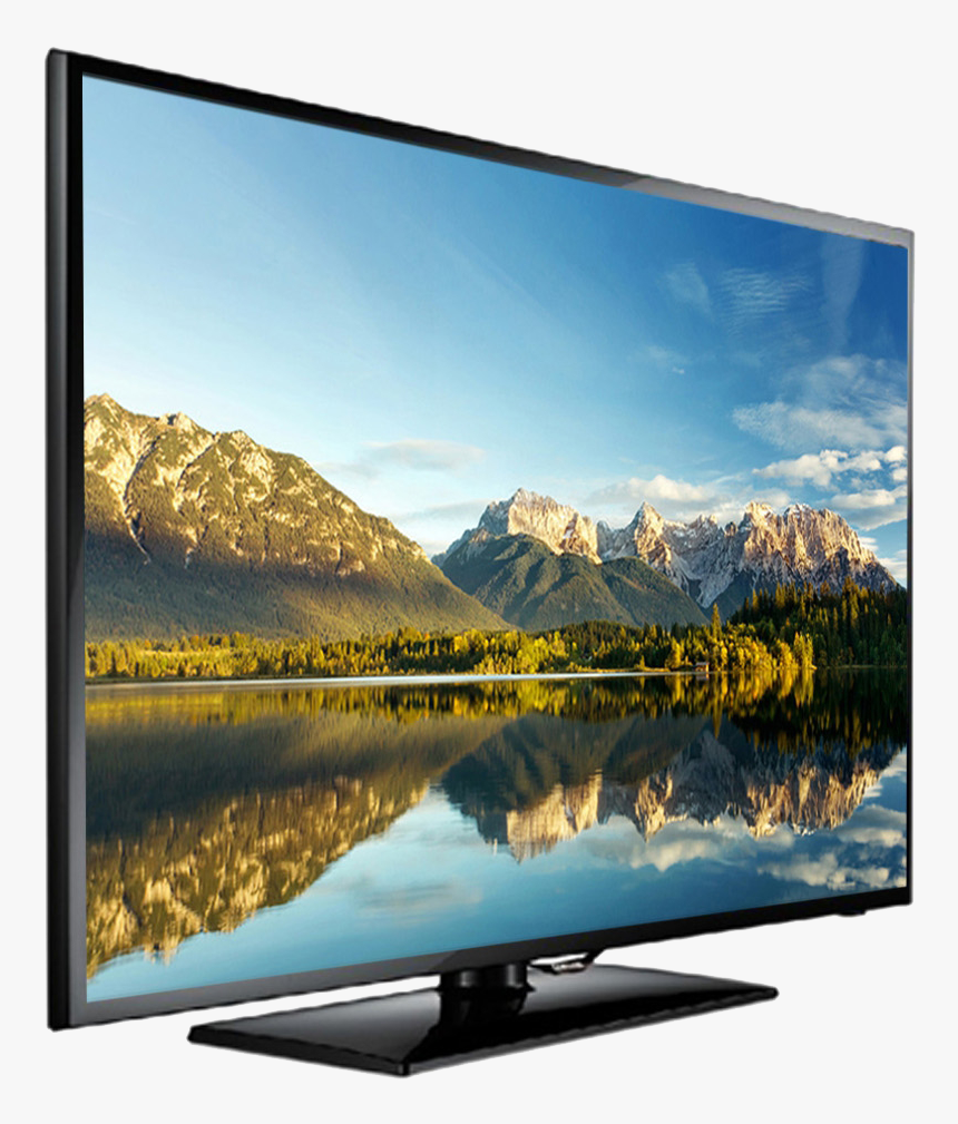 Computer Monitor,display Device,natural Landscape,lcd - Flat Screen Tv Png, Transparent Png, Free Download