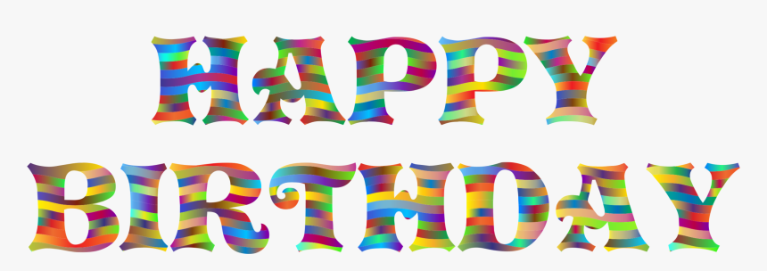 Area,text,party Supply - Happy Birthday Plaatje Png, Transparent Png, Free Download