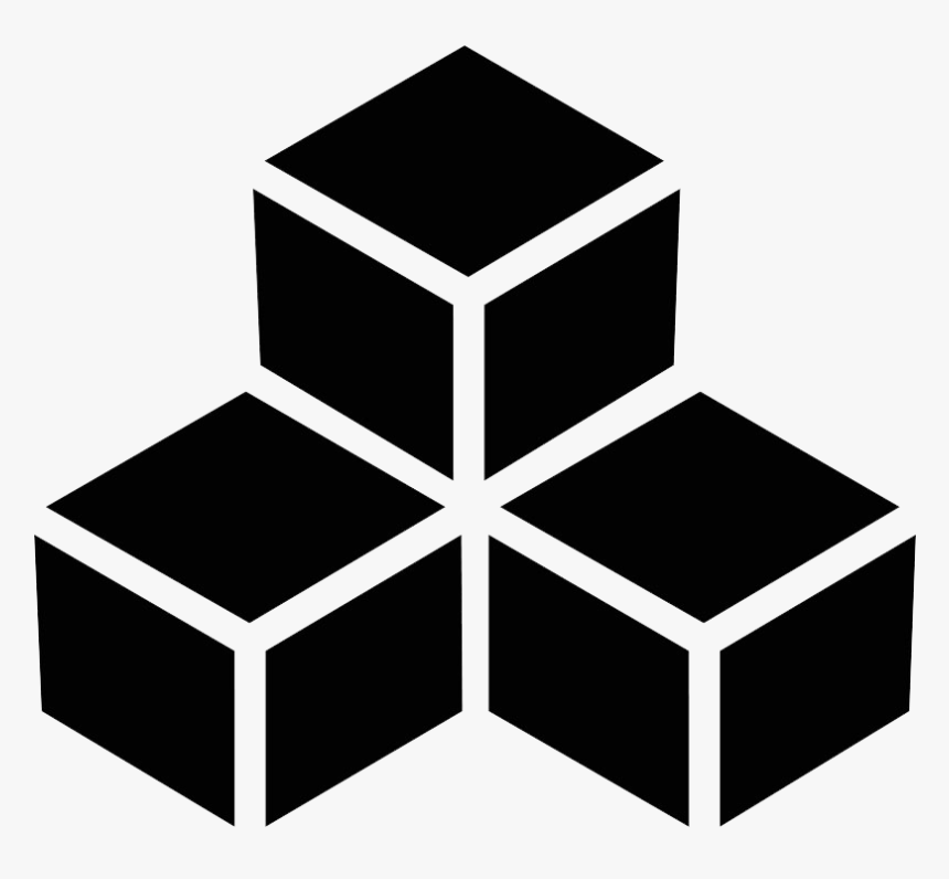 Stacked Boxes Icon Web Icons Png - Building Blocks Icon Vector, Transparent Png, Free Download