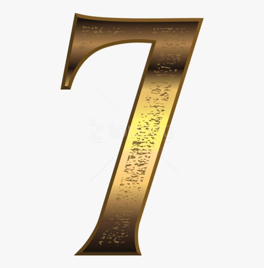 Free Png Download Old Gold Number Seven Clipart Png - Knife, Transparent Png, Free Download