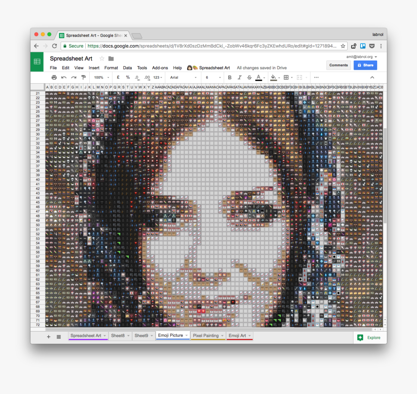 Google Sheets Art, HD Png Download, Free Download