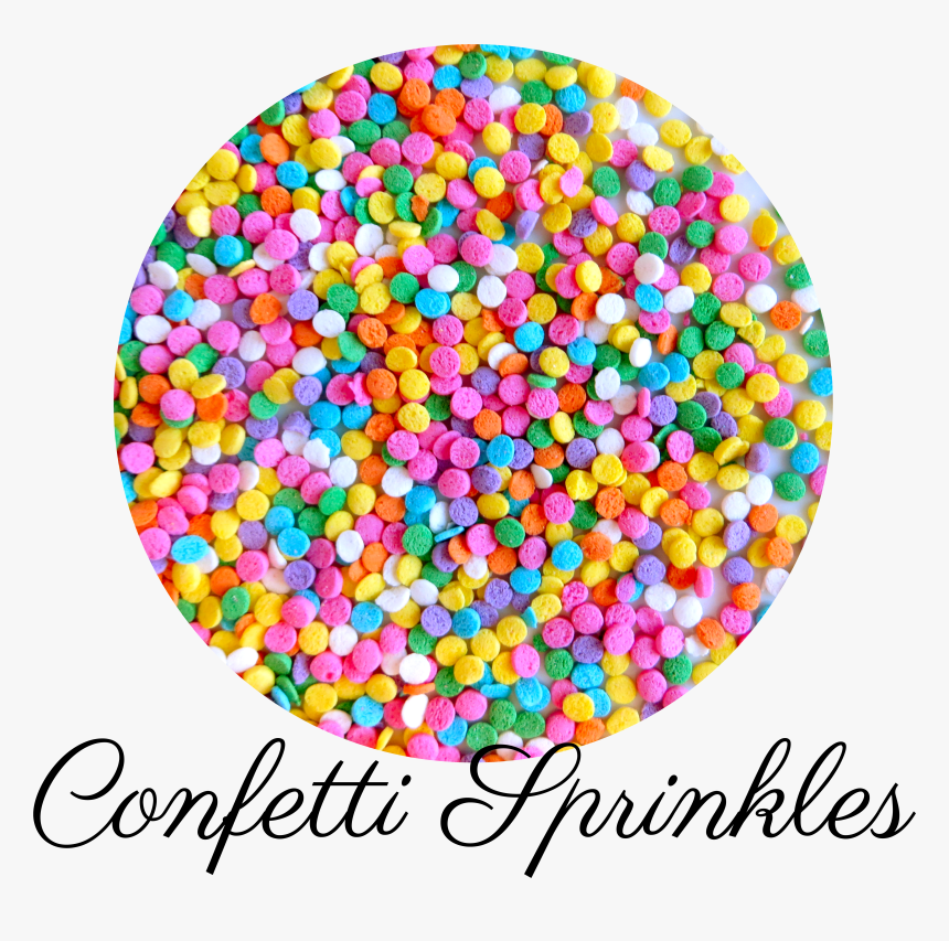 Confetti Sprinkles-01 - Circle, HD Png Download, Free Download