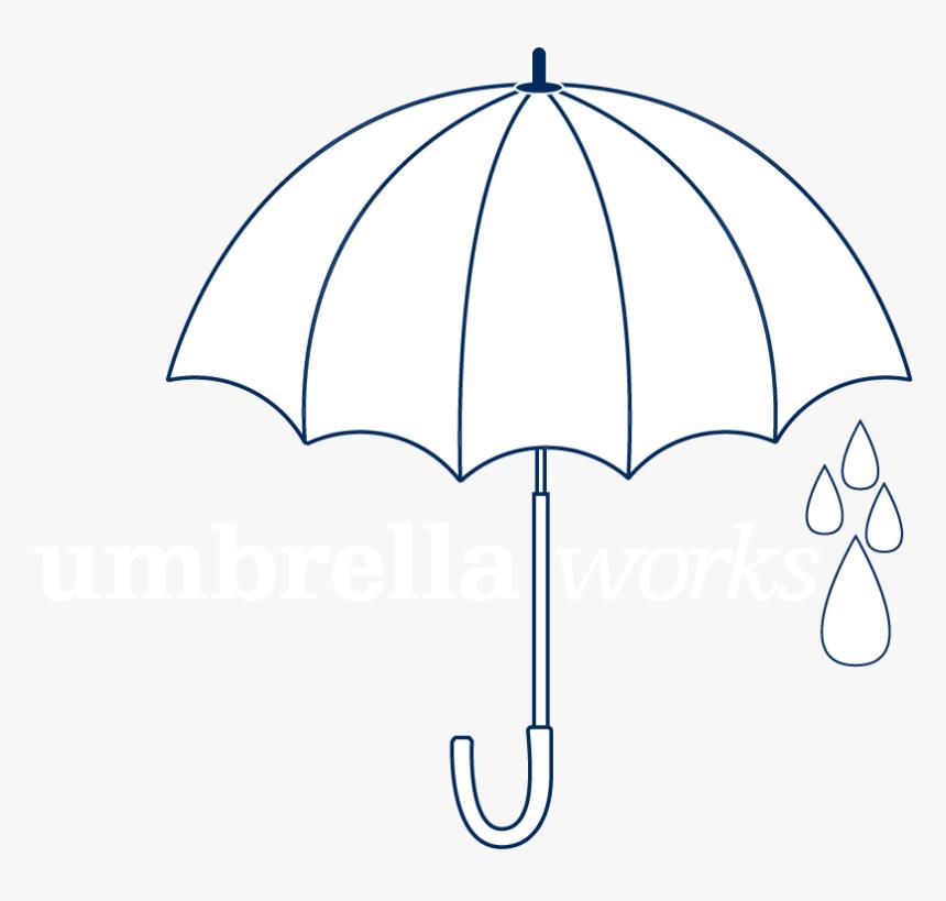 Umbrella Works - Graphics Design Umbrella, HD Png Download, Free Download