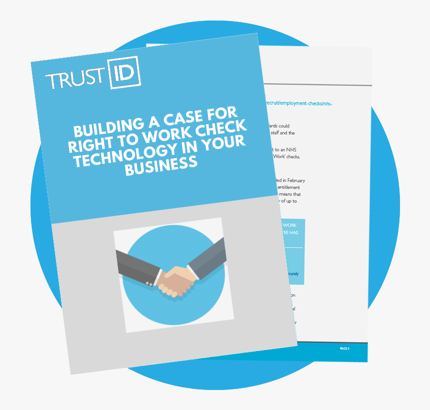 Building A Case For Right To Work Check Software In - Brochure, HD Png Download, Free Download