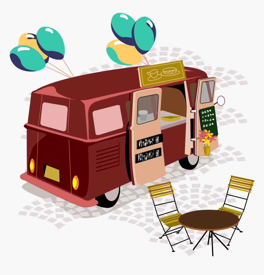 Building A Mobile Street Food Business From Scratch - Food Truck, HD Png Download, Free Download