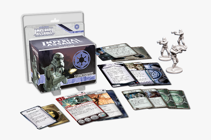 Imperial Assault Stormtroopers - Star Wars Imperial Assault Stormtroopers Villain Pack, HD Png Download, Free Download
