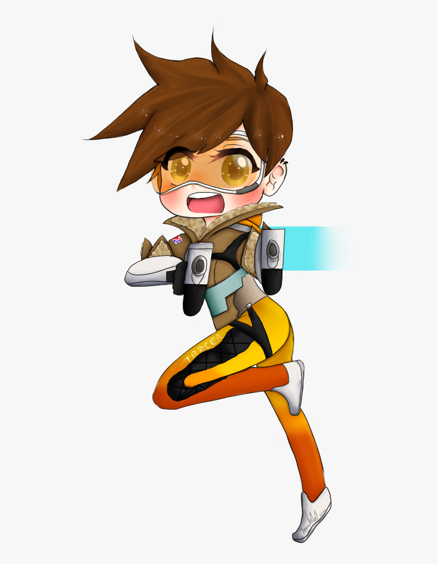 Thumb Image - Overwatch Png Tracer, Transparent Png, Free Download