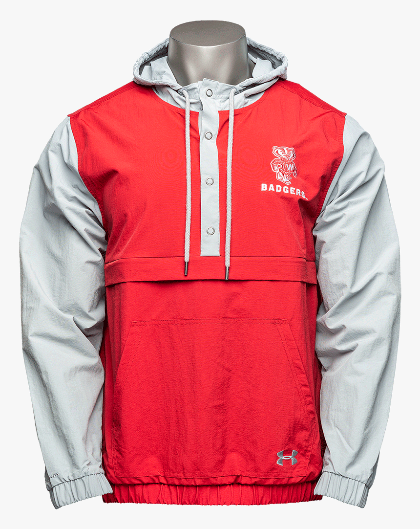 Cover Image For Under Armour Wisconsin Badgers Rain - Hoodie, HD Png Download, Free Download