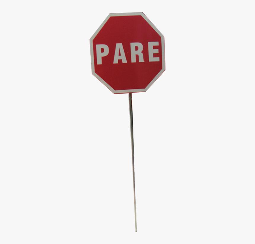 Letrero Stop Png, Transparent Png, Free Download
