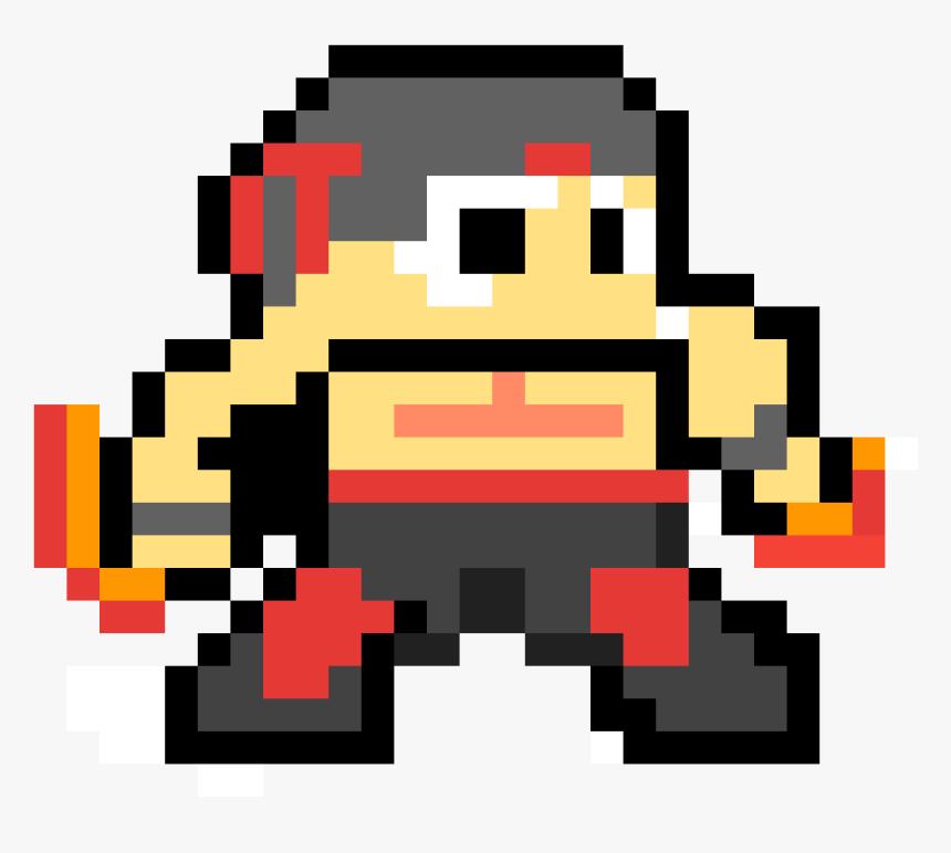 Minecraft Enter The Gungeon Pixel Art, HD Png Download, Free Download