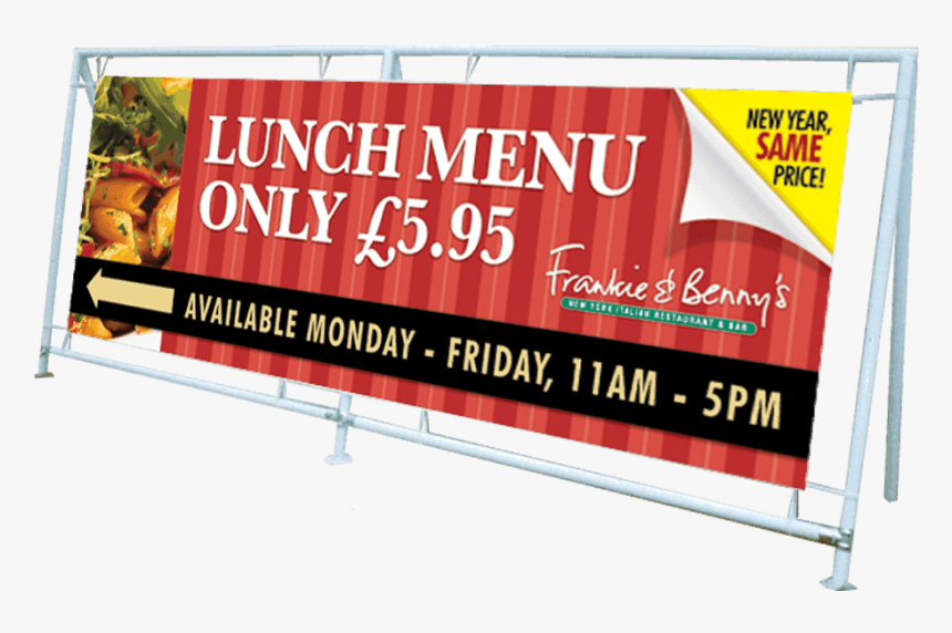 Heavy Duty Banner Frame With Banners - Heavy Duty Banner, HD Png Download, Free Download