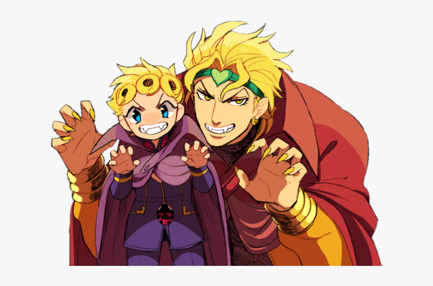 Jojo Dio And Giorno, HD Png Download, Free Download