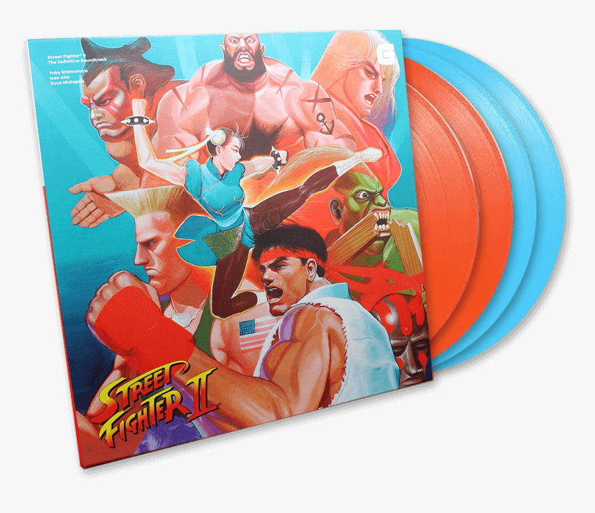Street Fighter Ii The Definitive Soundtrack Cd, HD Png Download, Free Download