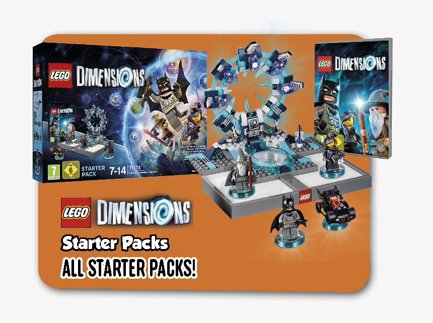 Lego Lego Dimensions Smyths Toys Lego Dimensions Starter Pack Xbox One Hd Png Download Kindpng